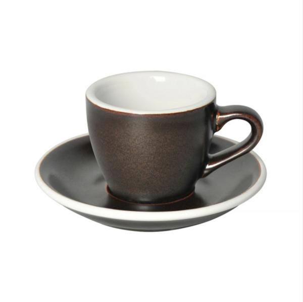 Loveramics Egg - Espresso 80 ml Kop og underkop Gunpowder