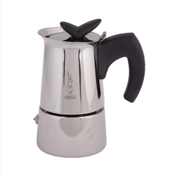 Bialetti Musa 2 koppers Moka Espressokande egnet til induktion