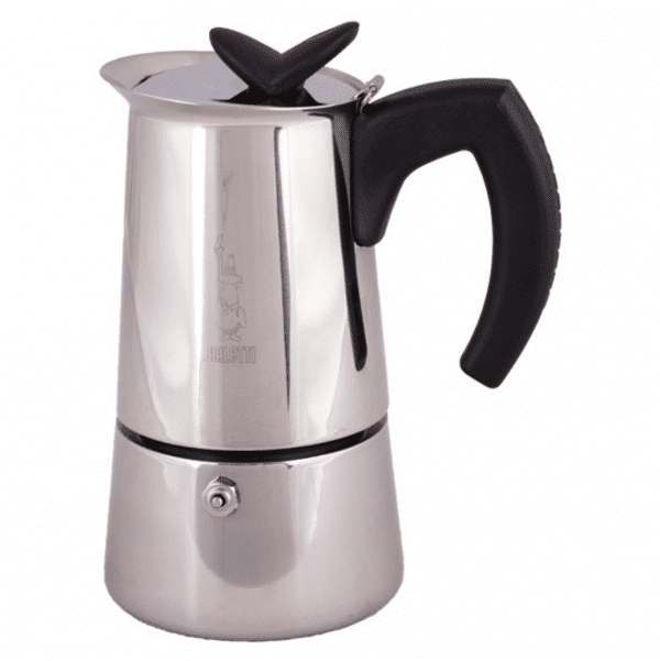 Bialetti Musa 6 koppers Moka Espressokande egnet til induktion