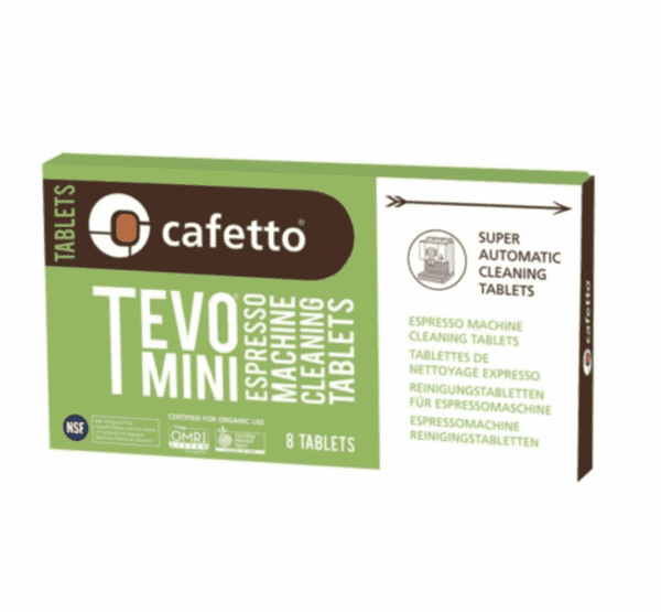 Cafetto – Tevo Mini 8 Tabletter - Blisterpack