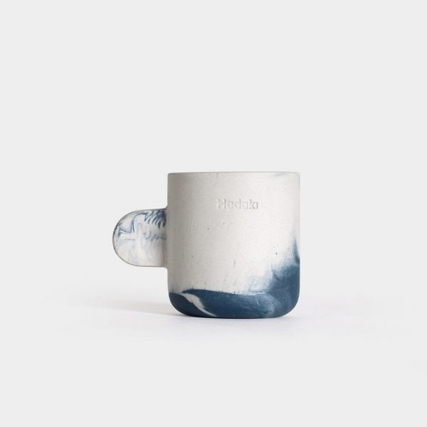 Hadaki Espressokop 60 ml - Håndlavet - Baltic Blue