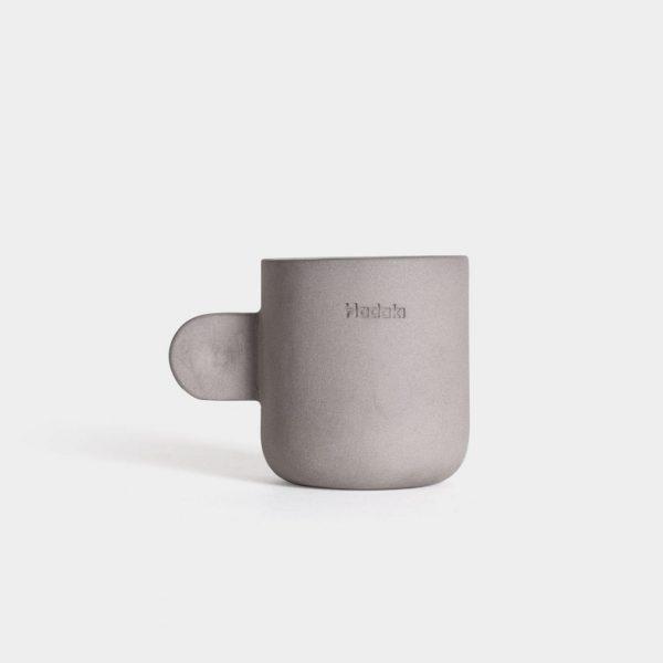 Hadaki Espressokop 60 ml - Håndlavet - Mørkegrå