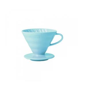 Hario V60-02 Keramisk Coffee Dripper Lysblå