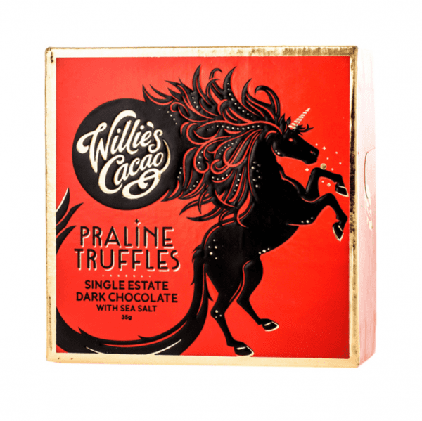 Praline Truffles Dark Chocolate with Sea Salt 35g