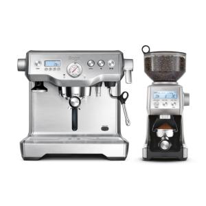 Sage the Dynamic Duo™ – Dualboiler Espressomaskine & Kaffekværn