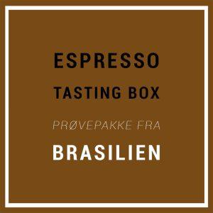 Specialty Espresso Tasting Box / Prøvepakke – 3 x 220 G