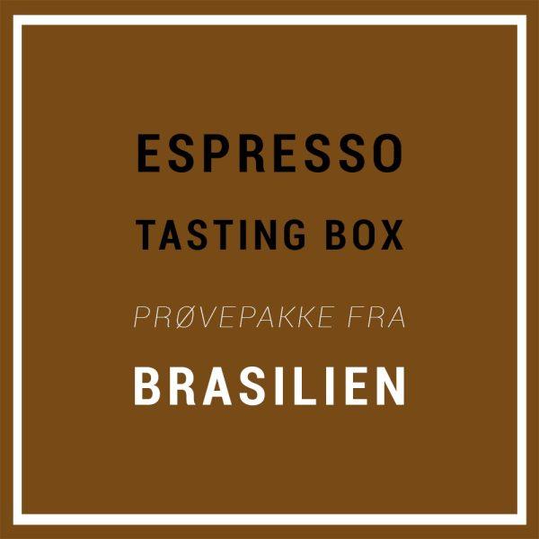 Specialty Espresso Tasting Box / Prøvepakke - 3 x 220 g.