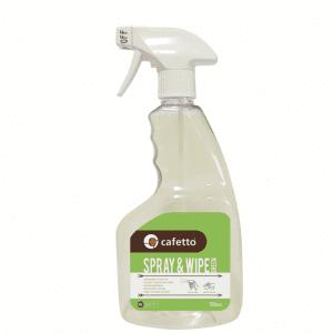 Cafetto Spray & Wipe - 750 ML rengøringsspray - Organisk