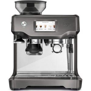 Sage The Barista Touch Espressomaskine - Koksgrå Rustfri Stål