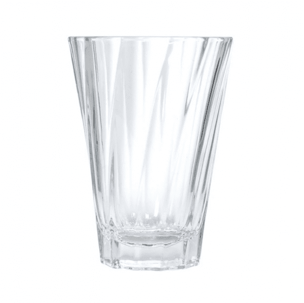 Loveramics - Twisted Latte Glas 360 ml