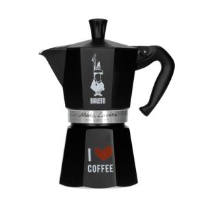 Bialetti Moka Express Espressokande - Matsort 6 koppers - Moka Lovers Collection