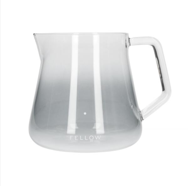 Fellow Mighty Small Glass Carafe - 500 ml Server - Smoke Glas