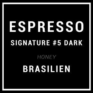 Signature Espresso #5 DARK ROAST – Specialty Espresso Bønner – Brasilien