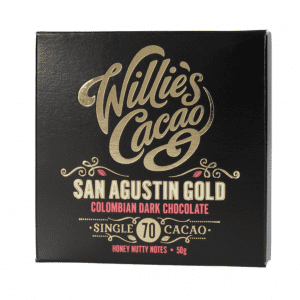 Willie's Cacao - San Augustin Gold 70% - Mørk Chokolade fra Colombia 50g